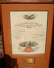 PRESIDENT JAMES BUCHANAN - NAVAL APPOINTMENT SIGNED 10/13/1859 FINE CONDITION