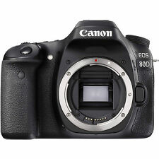 Canon EOS 80D 24.2 MP Dslr Digital slr camera (Body Only) - BRAND NEW WiFi