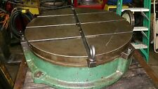 """25"""" Troyke T-slotted Rotary Table Model BH-25"""