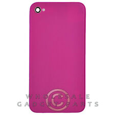 Door with Frame for Apple iPhone 4S CDMA GSM Purple  Rear Back Panel Housing