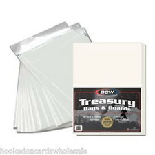 25 BCW Treasury Comic Book Bags & Backer Boards Storage Acid Free