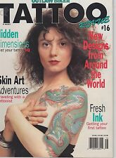 #16 TATTOO REVUE vintage magazine (UNREAD)