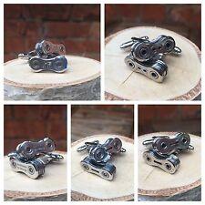Bike Chain Cufflinks - Shimano, KMC, Campagnolo, SRAM