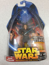 STAR WARS REVENGE OF THE SITH #01-02 ANAKIN SKYWALKER WITH LIGHTSABER ATTACK