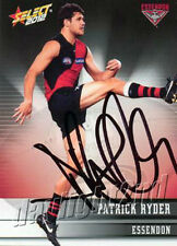 Signed 2012 ESSENDON BOMBERS AFL Card PATRICK RYDER