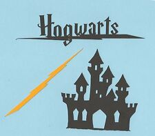 Harry Potter Die Cuts - Hogwarts Die Cuts - 3 pieces.