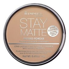 Rimmel London Stay Matte Long Lasting Pressed Powder, Silky Beige 0.49 oz