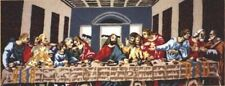 The Last Supper Large punch needle kit Masterpiece size 88cm x38cm WEBSTER CRAFT