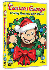 Curious George: A Very Monkey Christmas [DVD], in Good Condition, ,