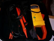 Fluke i410 amp probe, TP165x remote control probe, Alligator clips and soft case
