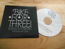 CD Indie Bike For Free - So Much Forever (15 Song) Promo FAKE FOUR cb