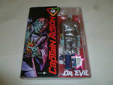 NEW IN BOX CAPTAIN DR EVIL ACTION POSEABLE FIGURE DOLL MARVEL 1/6 SCALE NIB 2012