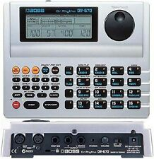 BOSS DR-670 DR RHYTHM DRUM MACHINE & POWER SUPPLY