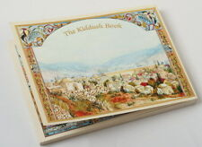 The Kiddush Book Hebrew - English Jewish Shabbat Blessings Songs Shabbes Holiday