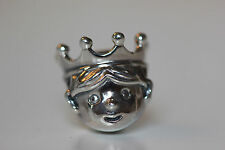 AUTHENTIC NEW PANDORA 791959 FALL 2016 PRECIOUS PRINCE CHARM S925 ALE GIFT BOX