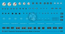 Peddinghaus 1/35 German Vehicle Instrument Faces & Markings WWII [Decal] 2317