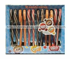 FRANKFORD 12pc Candy Canes SODA 6 oz Box DR PEPPER+CRUSH+A & W Holiday Exp 9/18