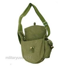 Military Surplus Chinese Drum Haversack Magazine Pouch Messenger Bag Army Green