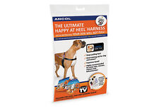 Ancol Happy At Heel Non Pull Dog Harness & Training DVD Large