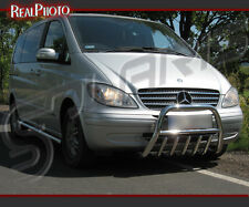 MERCEDES VITO/VIANO 04-10, BULL BAR, NUDGE BAR,A BAR + GRATIS!!! STAINLESS STEEL