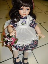 """Blackberry Blossom"" by Ann Timmerman Porcelain Doll from Georgetown Collection"