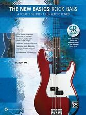 The New Basics -- Rock Bass: A Totally Different, Fun Way to Learn (Book & CD),
