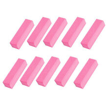 10 Pcs Buffing Sanding Buffer Block Files Acrylic Pedicure Manicure Nail Art Y69