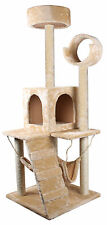 "52"" Deluxe Cat Tree Condo Furniture Scratch Scratching Post Pet House W/Hammock"