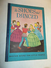 vintage THE SHOES THAT DANCED The Brothers Grimm 1946 HARRIET Maxton Books