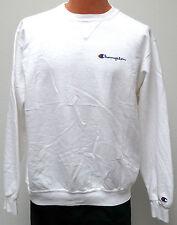vtg SNOW FLAKE WHITE Champion Sweatshirt XL 90s Warmup sewn logo USA Made