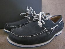 ECCO Mens 58010402038 Ellery Blue Lace Sneaker Boat Shoes US 9 - 9.5 M EU 43 NWB