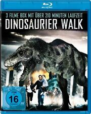 3 Actionfilme Blu-Ray - Dinosaurier & 100 Million BC & The Land That Time Forgot