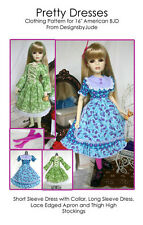 ABJD101 American BJD Dress Pattern for Vinyl Goodreau