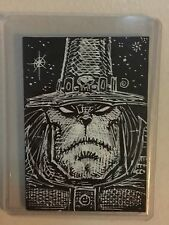 HALLOWEEN CHAKAN Original art sketchcard atc aceo art by RAK - MONSTER