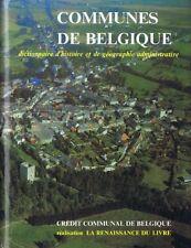 Communes de Belgique, 2 tomes : Wallonie & Bruxelles | Hervé Hasquin | 1980