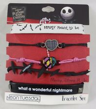 The Nightmare Before Christmas Jack & Sally Meant To Be Arm Party Bracelet Set