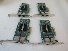 Lot of 4 IBM 39Y6127 PRO/1000 PT Dual Port Gigabit PCIe Server Adapter 39Y6128