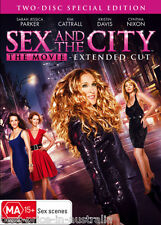 Sex And The City - The Movie (Extended Cut) DVD COMEDY 2-DISC Region 4 FREE POST