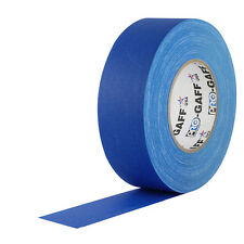 "Pro Tapes 2"" x 55 Yards Pro Gaff Tape - Electric Blue"