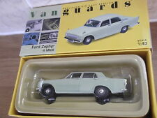 Vanguards VA06000, Ford Zephyr 4 Mk III Saloon Car in Lime Green, 1:43 scale