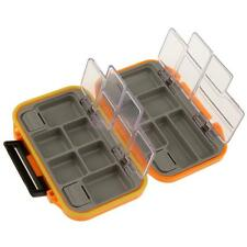 Fishing Lure Bait Hooks Assorted Tackle Box Storage Case 12 Compartments