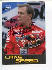 Lake Speed NASCAR Driver Signed Autograph Photo