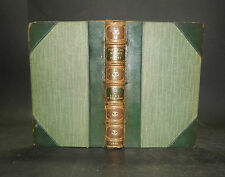1834 Sir Water Scott THE LORD OF THE ISLES Leather Binding