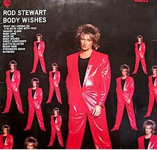 ++ROD STEWART body wishes LP 1983 what am i gonna do/baby jane RARE VG++