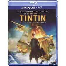 Blu-ray *** LE AVVENTURE DI TINTIN 3D (Br 3D + 2D) *** sigillato