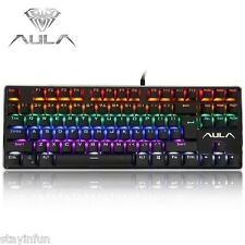 Professional Blue Axis USB Wired Mechanical Gaming Keyboard Backlight BACKLIGHT