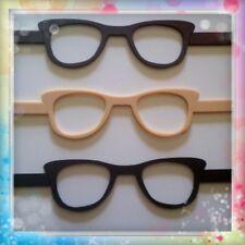 3 gafas de goma eva ideal para fofuchas o cualquier muñeca