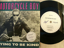 MOTORCYCLE BOY TRYING TO BE KIND radio promo N/M