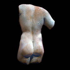Nude Male torso (short) Wall Sculpture