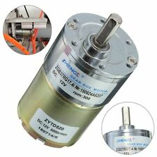 12V DC 300RPM 5000r/Min 37GB High Torque Gear Box Electric Motor 37mm Diameter
